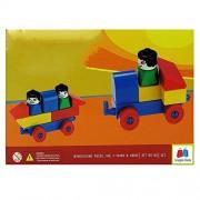 GRAPPLE DEALS Kinder Blocks Play Set - Interlocking Architectural Set For Kids.(Multicolor)