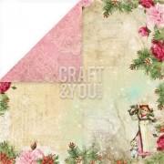 Craft And You Design Papier ozdobny 30,5x30,5 Christmas Story - 05 - 05