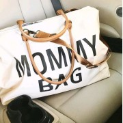 Mommy bag zeer grote verzorgingstas Ecru/Wit