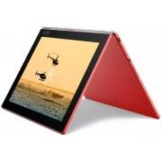 "Tableta Lenovo Yoga Book YB1-X91L, Procesor INTEL Atom™ Quad-Core 1.44Ghz, IPS-LCD Capacitive touchscreen 10.1"", 4GB RAM, 128GB Flash, 8MP, WI-FI, 4G, Windows 10 Pro (Rosu) + Cartela SIM Orange PrePay, 6 euro credit, 4 GB internet 4G, 2,000 minute nationa"