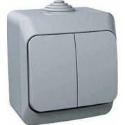 CEDAR PLUS Jelzőfényes csillárkapcsoló 16 A IP44 Szürke WDE000651 - Schneider Electric