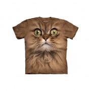 The Mountain Bruin poezen shirt met fotoprint