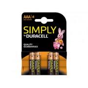Simply Batterien AAA Micro LR03 Alkaline im 4er-Pack | Batterien