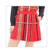 アルチビオ ゴルフウェアレディース Randomべロアストライプ◆ポケ付スカート