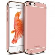 Husa cu Acumulator Ultraslim iPhone 6 Plus/6s Plus, iUni Joyroom Power Case 3500mAh, Roz