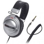 Слушалки Audio-Technica ATH-PDG1, за професионален мониторинг, 44мм говорители, 10-25кHz, 98 dB, сваляем кабел, сребристи
