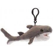 Shark Week 30th Anniversary Bull Shark Clip para Mochila de Peluche (17,8 cm)