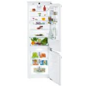 Combină frigorifică încorporabilă Liebherr ICN 3376, 255 L, NoFrost, SuperCool, SuperFrost, Display, Control electronic, Siguranţă copii, H 178 cm, Clasa A++