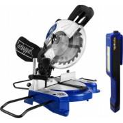 Pachet Fierastrau electric de debitat stationar Scheppach HM 80 L putere 1500 W turatie 5000 RPM + Cadou lanterna LED magnetica AgroPro