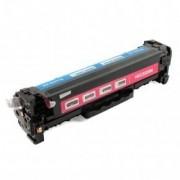 Printflow Compatível: Toner Hp/Canon 718M magenta (cc533a)