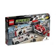 Lego 75876 Speed Champions Porsche 919 Hybrid I 917K Pit Stop
