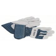 Ръкавица защитна от цепена говежда кожа GL SL 10, EN 388, 1 бр., 2607990104, BOSCH