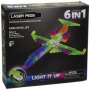 Kit Constructie cu Lumini Laser 6 in 1 - Avioane