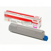 OKI Originale C 8600 N Toner (43487710) magenta, 6,000 pagine, 3.03 cent per pagina - sostituito Toner 43487710 per C 8600N