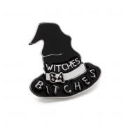 KILLSTAR kitűző- Witches B4 Bitches - Fekete - KIL523