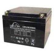 Leoch 12V 28Ah CT (AGM) batteri 177 x 166 x 125
