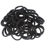Sweven New Pack of 50 Black Rubber Band