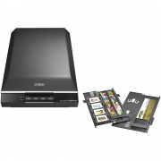 Plosnati skener Perfection V600 Photo Epson A4 6400 x 9600 dpi USB dokumenti, slike, dijapozitivi, negativi