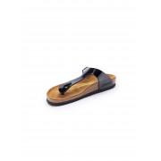Birkenstock Zehentrenner-Pantolette Gizeh Birkenstock schwarz Damen 43 schwarz