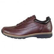 Pantofi piele naturala sport barbati - maro, Bit Bontimes - B635WELT-MaroTDM