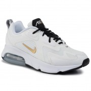 Обувки NIKE - Air Max 200 AT6175 102 White/Metallic Gold/Black