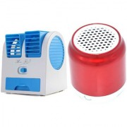 GKG_1719H_Air conditioner Mini cooler and H 8 bluetooth speaker compatible for PANASONIC T9( Air conditioner Mini cooler|| Mini cooler|| Mini Air conditioner || Mini AC || Portable Fan|| bluetooth Speaker)