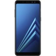 Telefon mobil Samsung Galaxy A8 (2018) A530 32GB Dual SIM 4G Black Bonus Selfie Stick Tellur Z07-5