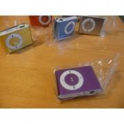 Mini MP3 přehrávač - fialový