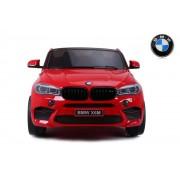 Masinuta electrica BMW X6 M XXL Red cu doua locuri si telecomanda 2.4 Ghz