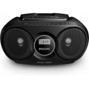 Prenosni CD radio Philips AZ215B/12, Crni
