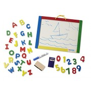 Melissa & Doug 145 Magnetic Chalk/Dry Erase Board