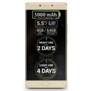 "Smartphone Allview P9 Energy, Procesor Helio P10 8x2 GHz, Amoled Full HD Capacitive touchscreen 5.5"", 4GB RAM, 64GB, 13MP, Wi-Fi, 4G, Dual Sim, Android (Gold) + Cartela SIM Orange PrePay, 6 euro credit, 4 GB internet 4G, 2,000 minute nationale si internat"