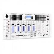 Resident DJ DJ Kemistry 3 WH Table de mixage 4 pistes Bluetooth