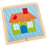 Hape Welcome Home Kid's Arts and Crafts Collage Kit
