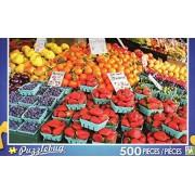 Fresh Market Fruit Stand - Puzzlebug 500 Piece Jigsaw Puzzle