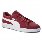 Сникърси PUMA - Smash V2 Buck 365160 06 Pomegranate/Puma White