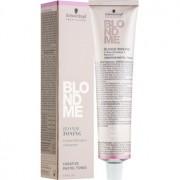 Schwarzkopf Professional Blondme Tönungscreme für blonde Haare Farbton T- Apricot 60 ml