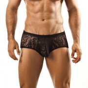 Joe Snyder Bulge Boxer Brief BUL03 Lace Black Underwear