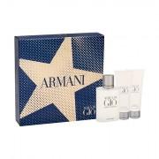 Giorgio Armani Acqua di Gio Pour Homme confezione regalo Eau de Toilette 100 ml + balsamo dopobarba 75 ml + doccia gel 75 ml uomo
