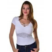 Mayo Chix női rövid ujjú body SKY m2019-1Sky0215/feher