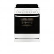 Готварска печка с електрическа фурна и плот Енергиен клас A Тип на плота: Електричество / стъклокерамичен