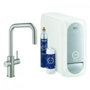 Grohe Blue Home Starter Kit 31543 auszb. Mousseur Bluetooth/WIFI U-Asl.supersteel, 31543DC0 31543DC0