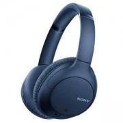 Безжични слушалки Sony Headset WH-CH710N, Bluetooth/NFC, AINC, Quick Charging, син, WHCH710NL.CE7