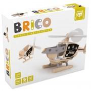 Construiește un elicopter de poliție din lemn