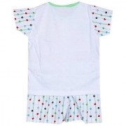 Babies Printed Night Suit - Green ( 3-6 Month )