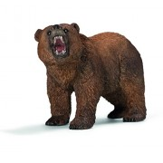 Schleich Grizzly Bear, Multi Color