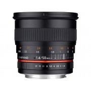 Nikon Objetivo SAMYANG 50mm F1.4 As Umc Nik F Ae (Encaje: Nikon F - Apertura: f/1.4 - f/22)