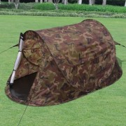vidaXL Двуместна палатка с бързо сглобяване, цвят камуфлаж
