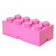 40041739 Cutie depozitare LEGO 8 roz