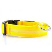 FANJIA Collar De Perro 7 Colores Luces Led Collares Para Perros Seguridad Nocturna Anti-Perdida Collar Para Mascotas De Nailon Intermitente Collar Que Brilla En La Oscuridad Para Perros Pequeños, Collar-Ama